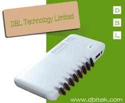 8 GSM VoIP van de haven/van het Kanaal Gateway met SIP&H. 323 (GoIP8)