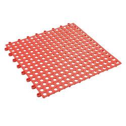 水抜き穴DIYのサイズの浴室のシャワーの洗面所の滑り止めの床タイルのマットの連結のマッサージの柔らかいクッションの床タイル中国が付いている連結のゴム製床タイル