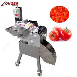 Cortador de manga fresca eléctrico da máquina de corte de cubos de produtos hortícolas