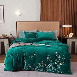 Commerce de gros Classic Home Textile draps de lit linge 100 % coton défini