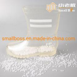 Transparente de compostos de PVC /Grânulos de PVC para solas de sapatos