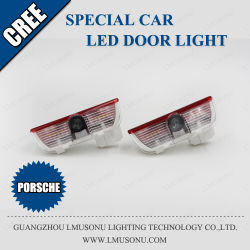 Добро пожаловать Lmusonu двери автомобиля светодиодный индикатор для Porsche LED Ghost Shadow лампа