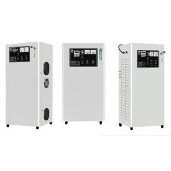 Wasserbehandlung-Ozon-Generator-eingebaute Luftverdichter-und Sauerstoff-Quelle des Ozon-10-50g