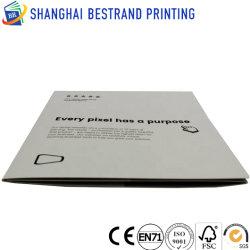 Kleurrijke professionele luxe folder printen met foliestempel