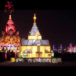 Gran parte de linterna Festival Chino muestran gran fiesta de Navidad de linterna Linterna