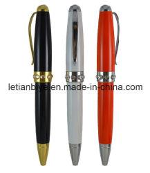 Diseño especializado de la fábrica de metal bolígrafos plumas cortas (LT-D021)