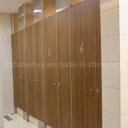 Декоративные водонепроницаемый HPL раздел туалет раздел
