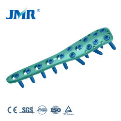 Implantes ortopédicos de titanio húmero proximal de bloqueo de la presión de las placas de hueso