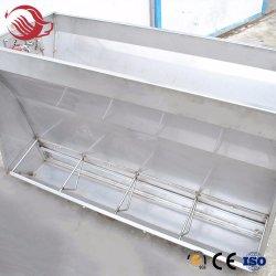 Alimentador automático de aço inoxidável a canaleta de Alimentação