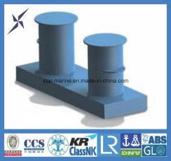 Plattform eingehangener doppelter Schiffspoller ISO-3913