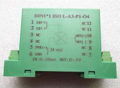 Transmissor do sinal de alta corrente DIN1X1 ISO L-A4-P1-S5