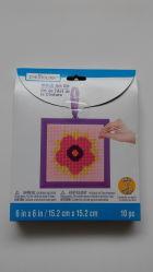 As Embarcações Handmake Cross Stitch Stitch Art Kit para Kid's de flor de bricolage