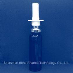 Spray nasal sur les bouteilles de pompes pour pince à sertir
