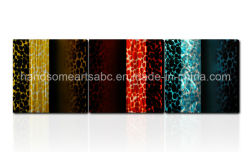 3D Kreative Glas Visual für Metall Wandkunst Dekor