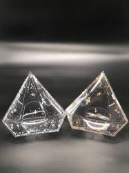 Estilo de diamantes Caixa de embalagens plásticas para Dom