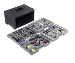 Herramientas de taller Kit de reparación mecánica 99pcs conjunto de herramientas de mano