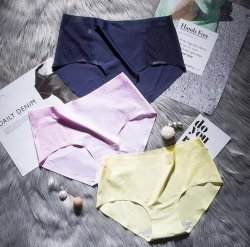 eco-Friendly Breathable Lingerie Women女性セクシーな成長した下着Panty