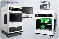 Crystal 선물 제작 기계, 레이저 내막 포장 기계