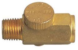 空気の真鍮の気流の調整装置のスロットルバルブ