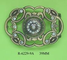 Chaud de la mode de vente de matériel de la courroie en alliage de zinc métal Lady's Boucle de ceinture