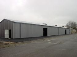 Estrutura de aço leve prefabricados edifício temporário (KXD-99)
