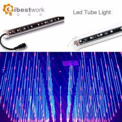 Indicatore luminoso del tubo della meteora LED di controllo 3D di RGB DMX di esposizione del partito della barra di notte