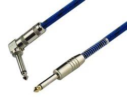 Les câbles audio pour une utilisation en instrument de musique et le mélangeur
