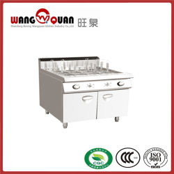 Korb-Handelsküche-Gas-Nudel-Kocher der Schrank-Unterseiten-6