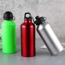 500 мл алюминиевая бутылка воды спорта бутылка воды на велосипеде бутылочки одной стене Inox расширительного бачка