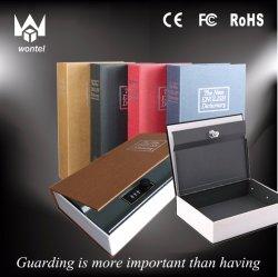 사전 키 잠금 숨겨진 비밀 금고 책 모양 저장소 상자