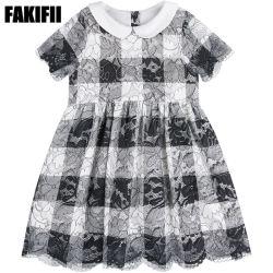 الصيف/الربيع المصنع مخصص الأطفال ارتداء الملابس الأطفال أزياء فتاة شيك Lace ملابس ملابس ملابس ملابس العلامة التجارية