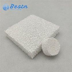 O filtro de espuma de cerâmica de alumina para filtração metálico