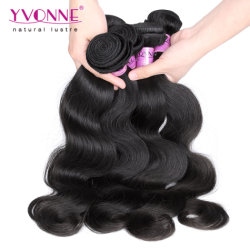 7A 비처리 신체 웨이브 브라질산 버진 인간 모발 확장(Virgin Human Hair Extensions)