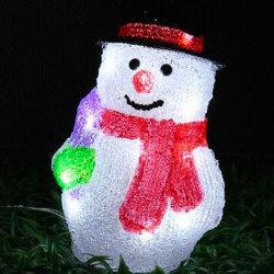 Piscina férias de Natal Decoração Boneco Solar LED luzes Motif