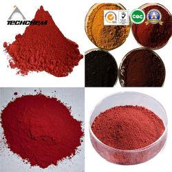 Oxyde de fer rouge pour le ciment de matériaux de construction