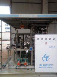 Sistema de almacenamiento de GNL y llenado de la estación de patín