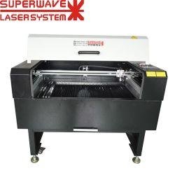 Mini-machine de découpage à gravure laser CO2 pour le Marbre ruber verre