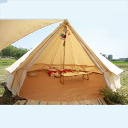 3m 4m 5m 6m 7m Glamping Camping Tent Waterproof Cotton Canvas Luxury Hotel Bell Tent