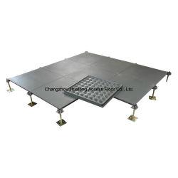 Pisos de concreto desnudo suelo elevado de acero