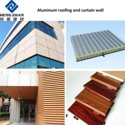 SGS Fuego decorativo exterior de chapa de aluminio para muebles piso