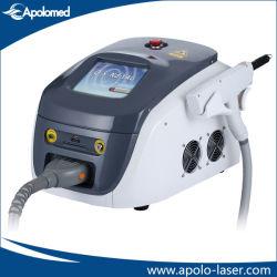 Mini-Q-Switched ND YAG remoção da tatuagem laser para a beleza Use