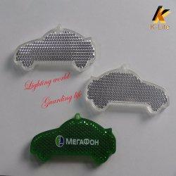 Catadioptre, de plastique T5 Twin avec réflecteur de lumière du tube de montage KW117