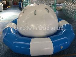 Arco iris de agua inflable Spinner Saturno juguetes para el verano