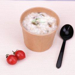 De dubbele PLA Met een laag bedekte Kom van de Kop van het Document van de Yoghurt