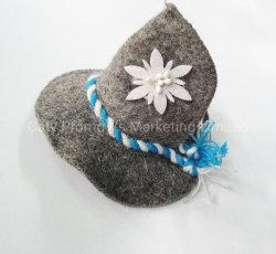 Promoção Bonitinha pequenas decoração de férias de família sentida garrafa de cerveja Hat Cap (FM075)