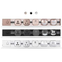 P2 4000W Küche-Stecker-Kontaktbuchsen USB-LED helle für Wohnzimmer