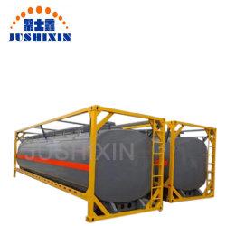 زيت وقود الصين / سائل ماء ISO 20 قدمًا/حاوية خزان 40 قدمًا مع CSC بسعر EXW