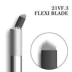 Permanent maak omhoog het Oog van de Pen van de Tatoegering van Microblades van de Wenkbrauw - brow V21 Eyeliner Microblading de PRONaalden van het Blad