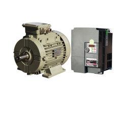 Prime de IE4 de l'efficacité de l'aluminium à aimant permanent synchrone triphasé Moteur électrique pour la pompe hydraulique