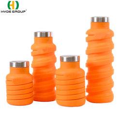 600ml personalizadas de Silicone Exterior Sport garrafa de água (HDP-4000)